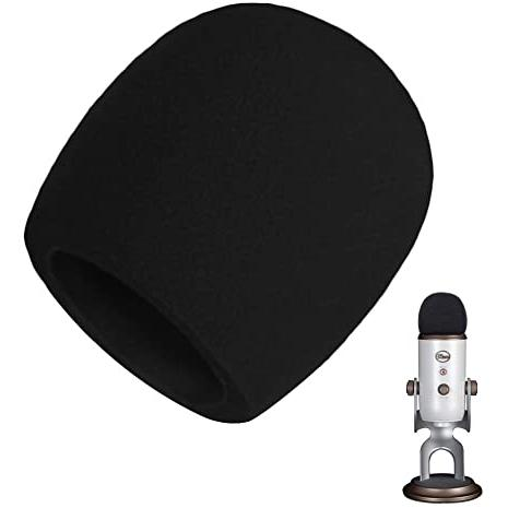 Performance Sul Palco Spugna Microfono Antivento Filtro Antivento di Microfono per KTV Parabrezza per Microfono,10 Pezzi Microfono in Schiuma 10 Colori Interviste di Notizie